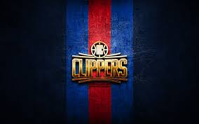 los angeles clippers golden logo nba