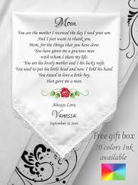 law wedding gift wedding handkerchief
