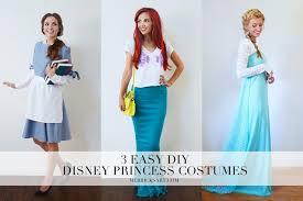diy 3 easy disney princess