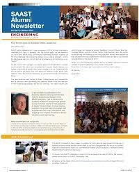 SAAST Alumni Newslet ter