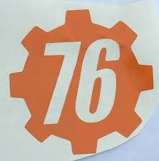 Color Size Fallout Vault Door 76 Logo Sprocket Vinyl Decal Sticker Car Window