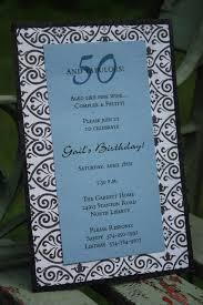 50th birthday invitations surprise