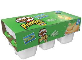 pringles snack stacks sour cream onion