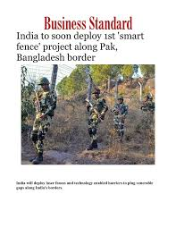 Ppt India To Soon Deploy 1st Smart Fence Project Along Pak Bangladesh Border Powerpoint Presentation Id 8000339
