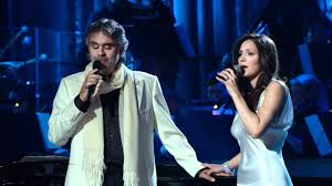 Andrea Bocelli and Katharine Mcphee - The prayer (Live 2008) HD ...
