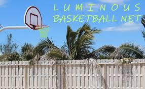 Amazon Com Leadteam Glow In The Dark Basketball Net Basketball Hoop Net Replacement All Weather Heavy Duty Thick Basketball Net Outdoor Indoor Basketball Net Professional Standard Size Basketball Goal Net Sports