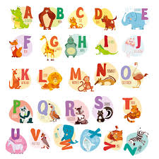 Huabei Wall Decals Kids Animal Alphabet Buy Online In Antigua And Barbuda At Desertcart