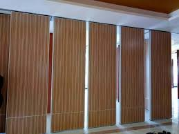 soundproof wooden movable partition
