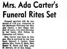 Mrs Ada Redford Carter (1872-1950) - Find A Grave Memorial