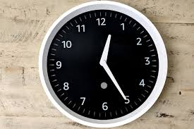 echo wall clock review it s about time