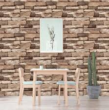 45cm 10m Retro Vintage 3d Brick Wall Paper Brick Pvc Wall Sticker Brick Self Adhesive Wallpaper For Home Decoration Wallpapers Aliexpress