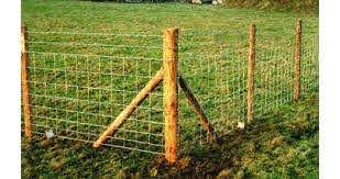 100m Post And Wire Kit Suitable For Sheep And Lambs Jacksons Fencing