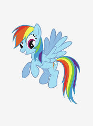 My Little Pony Rainbow Dash Peel And Stick Giant Wall Decals