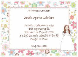 Invitaciones De Comunion Para Nina Wallpaper Hd Para Bajar