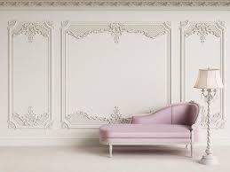 3d Classic Interieur Wand Met Kroonlijst En Sierlijsten Etsy Classic Interior Interior Walls Wall Molding