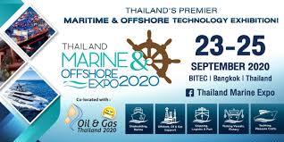 Thailand Marine & Offshore Expo (TMOX) 2020 - 23 September 2020 - Bangkok  Krung Thep Maha Nakhon Thailand