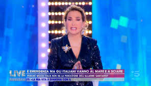 Barbara D'Urso, appello a Live per Coronavirus: video Mediaset 2020