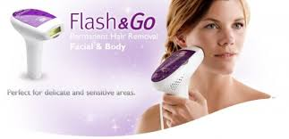 flash and go home laser hair removal