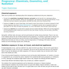 life baby chemicals cosmetics