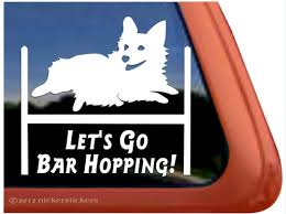 Pembroke Corgi Agility Dog Decals Stickers A Nickerstickers