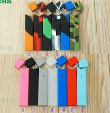 1pcs Colorful Skin Decal For Pax Juul Protective Silicone Case For Juul Ecig Kit Vape Pen Juul Skin Wrap Free Shipping A389