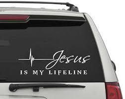 Jesus Decal Etsy