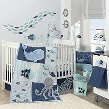 crib bedding set baby boy girl nautical