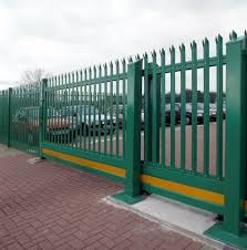 China Euro Style Free Standing D W Pale Metal Palisade Security Fence Steel Palisade Fencing Design China Palisade Fence And Metal Palisade Fence Price