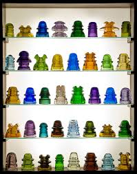 glass insulators as nightlights