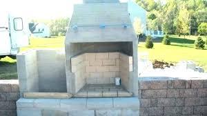 concrete outdoor fireplace precast kits