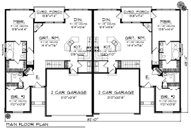 duplex plans house layout plans