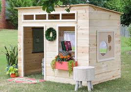 how to build a backyard playhouse the