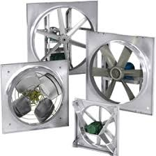 wall axial exhaust fans greenheck