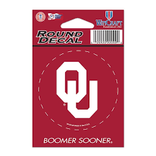Oklahoma Car Decals Oklahoma Sooners Bumper Stickers Decals Fanatics