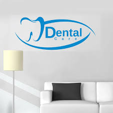 Dental Sign New Design Wall Decal Vinyl Window Decals Dentist Clinic Wall Stickers Art Mural Removable Vinilos Paredes Hot Lc294 Vinilos Paredes Wall Decalswindow Decals Aliexpress