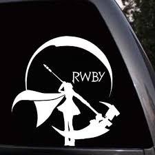 Rwby Anime Car Truck Bumper Laptop Vinyl Decal Sticker Etsy