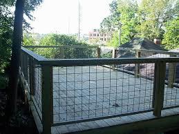 A Deck In Unusable Yard Space Wire Deck Railing Deck Railing Design Deck Railings