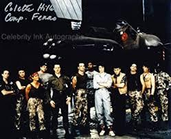 COLETTE HILLER as Corporal Ferro - Aliens GENUINE AUTOGRAPH: Amazon.co.uk:  Toys & Games