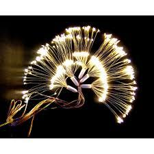 Dây đèn led trang trí hiệu ứng pháo hoa màu vàng ấm 500 bóng led - Đèn  trang trí Thương hiệu OEM