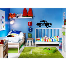 Shop Police Car Kids Vinyl Sticker Wall Art Free Shipping On Orders Over 45 Overstock 10204642