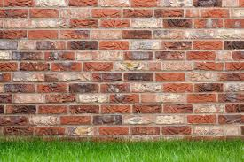 how to build a single brick garden wall