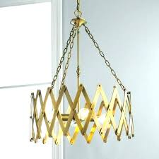 rectangular pillar candle chandelier