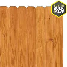 Severe Weather 6 Ft H X 8 Ft W Pressure Treated Southern Yellow Pine Dog Ear Fence Panel In The Wood Fence Panels Department At Lowes Com