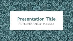 free vine powerpoint template