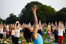 free yoga every day this summer