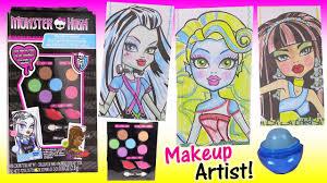 monster high makeup artist sketch