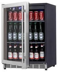undercounter beverage beer fridge with