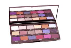 violet chocolate eyeshadow palette review