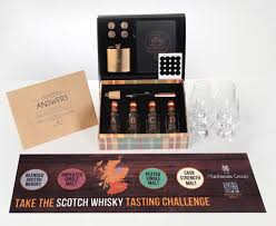the scotch whisky tasting