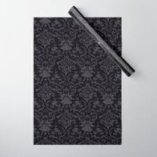gothic wrapping paper to match your